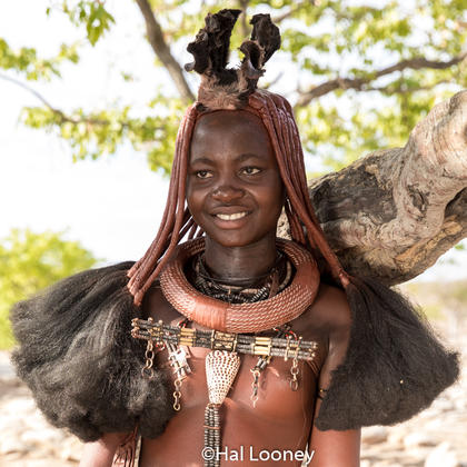 _LM45849 Unmarried Himba Girl