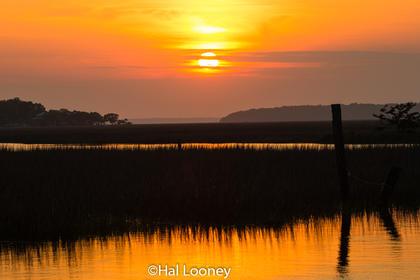 Sunset, Fishing Creek, Edisto